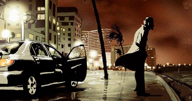кадр из фильма Вальс с баширом