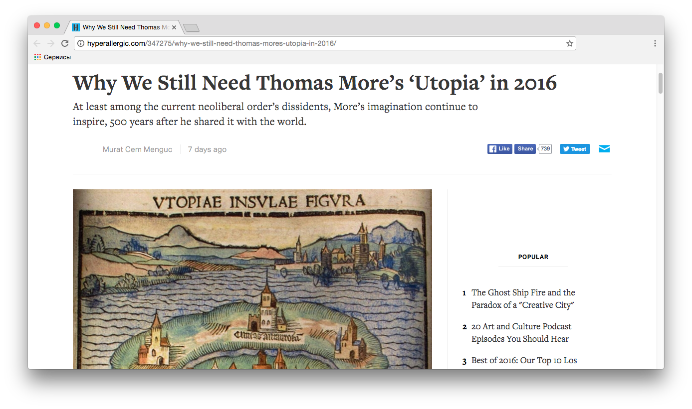 "the three points of thomas mores concept of utopia Utopia – literally ""nowheresville"" – was the name of an imaginary republic described by thomas more in which all social conflict and distress has been overcome."