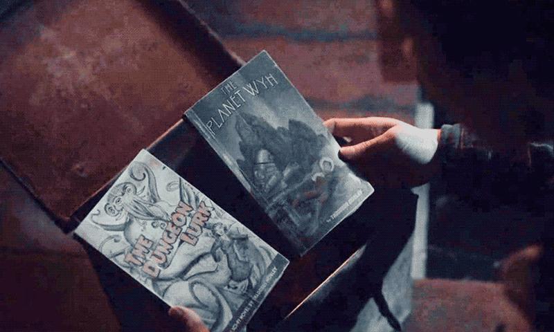 Глория Баргл находит тайник с книгами