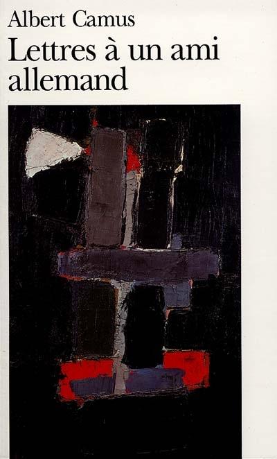 Альбер Камю. Письма немецкому другу (1943-1948)