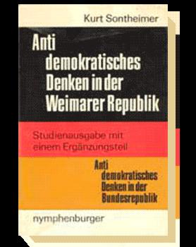 Антидемократическая мысль в Веймарской республике