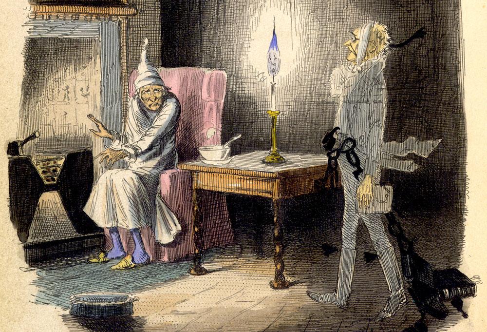 Чарльз Диккенс «Рождественская песнь» (1843)