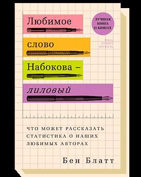 Любимое слово Набокова— лиловый. Что может рассказать статистика о наших любимых авторах