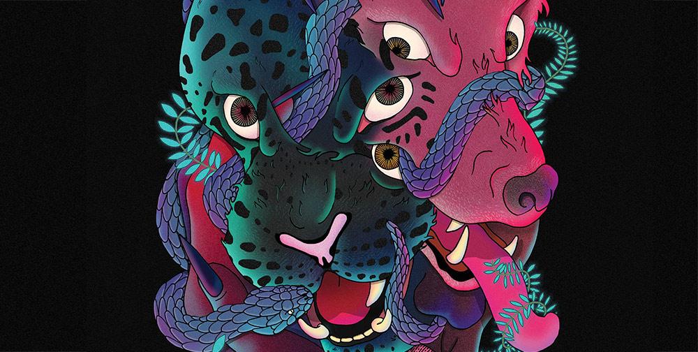 Секс с леопардом-оборотнем