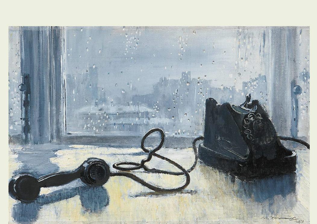 Юрий Пименов. Ожидание. 1959
