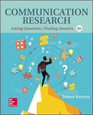Communication research: Asking questions, finding answers. 5th ed