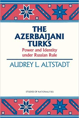 The Azerbaijani Turks: Power and Identity Under Russian Rule
