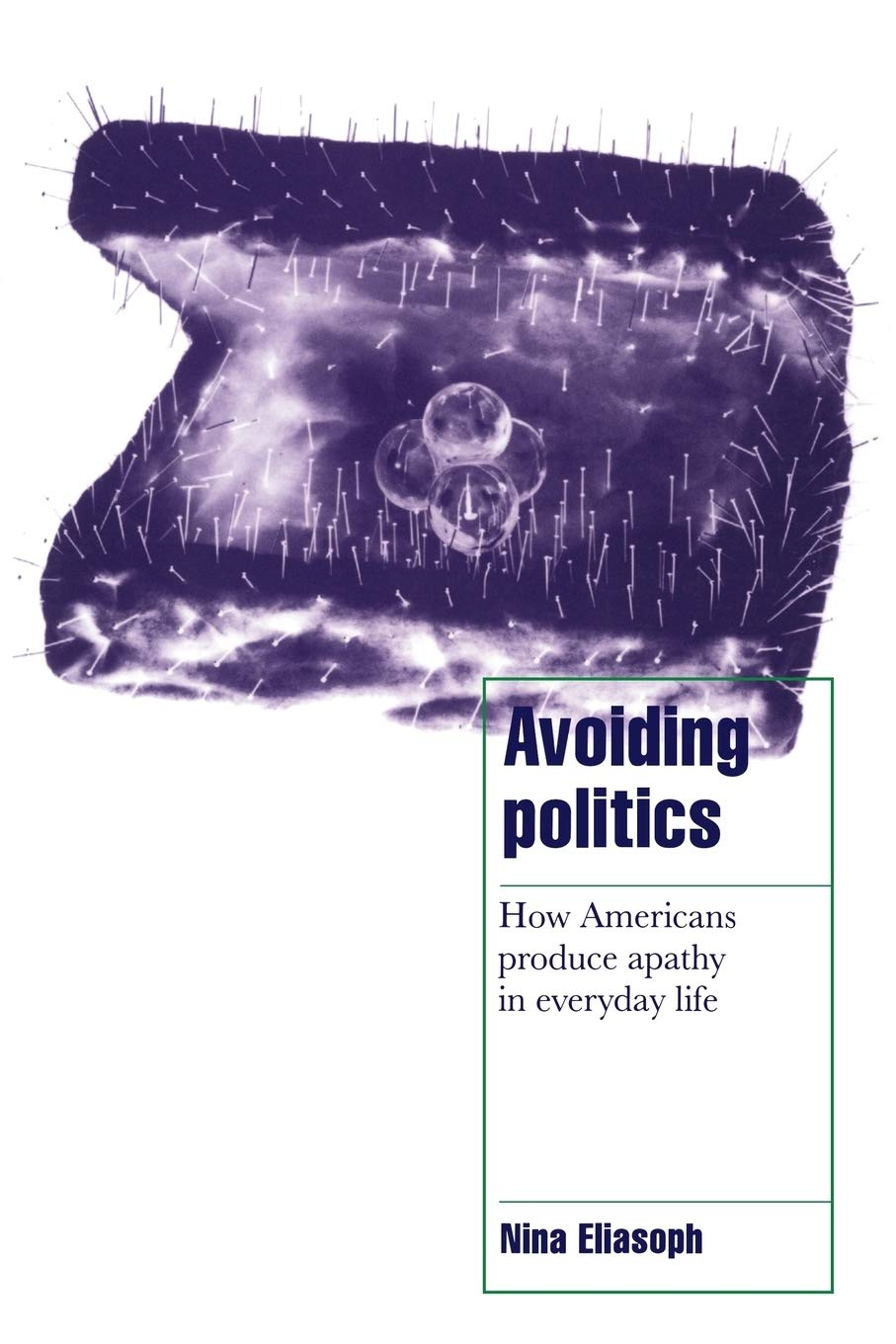 Avoiding Politics. How Americans Produce Apathy in Everyday Life